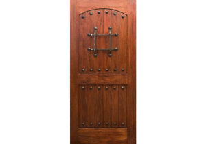 Details About Eto Doors Rm1 Exterior Rustic Mahogany Wood Entry Door 1 34 All Sizes