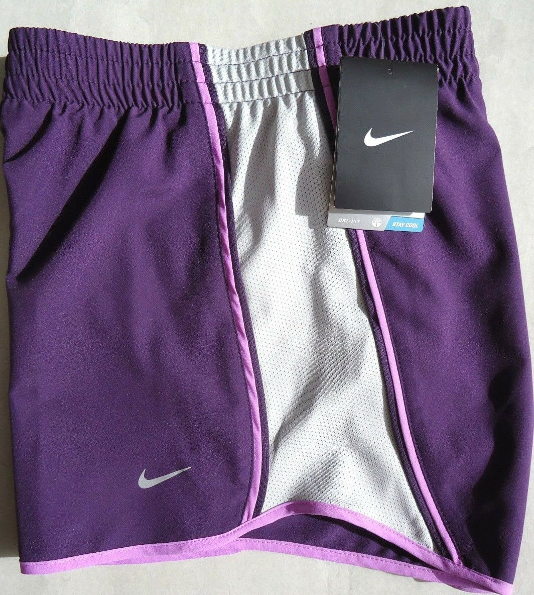 buy popular 94f0d 00f57 NEW Purple-Grey [XS] NIKE Pacer Women's DRI-FIT Runner Shorts X-Small  nmucpi3825-Shorts