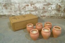 Scented Lavender Candle in Clay Pot 60hrs burn Dalit Goods India Charity Sonu