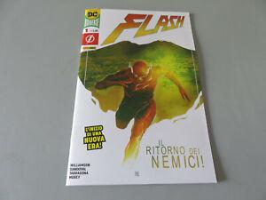 Flash N°1 - Dc Italia - Panini Comics - Italian New Perfect