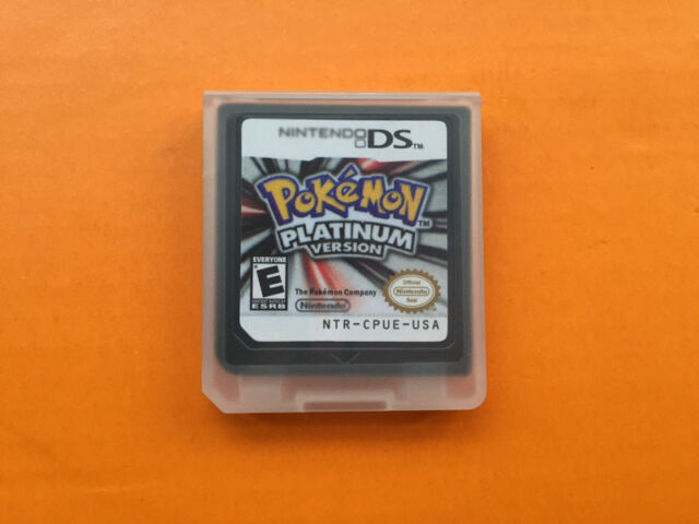 3DS NDSI NDS NDSL Lite Game Card Pokemon Platinum Version Black Children Gift HQ