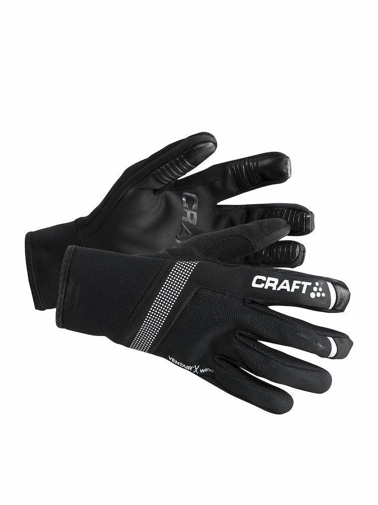 Handschuhe Radsport windundurchlässig CRAFT SHELTER GLOVE GLOVE GLOVE schwarze Farbe Größe S    Clearance Sale  ead64b