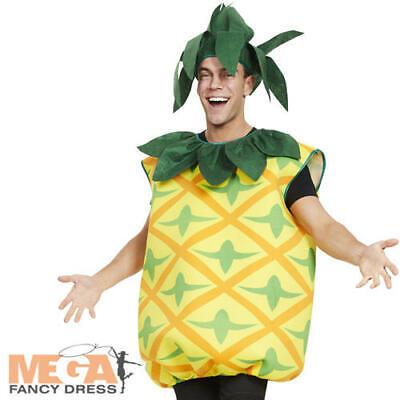 Realistico Pineapple Adulti Costume Frutta Cibo Da Uomo Donna Hawaiana Costume Novità-mostra Il Titolo Originale Possedere Sapori Cinesi