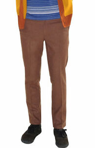 Brown Knost Pants 32 X Bnwt Rvca Alex Fancy H7ggqx