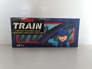 Vintange Tomy Train 6 Curved Rails