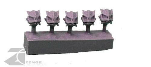 Zinge Industries Post Human Infanterie Salamandre Crâne Casque//Tête x5 S-SCH10