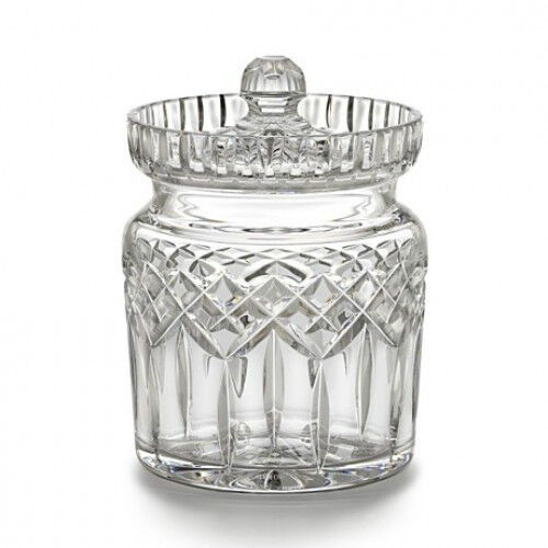 Waterford Cristal Lismore traditionnel Biscuit Baril Nouvelle main signé V Rellis