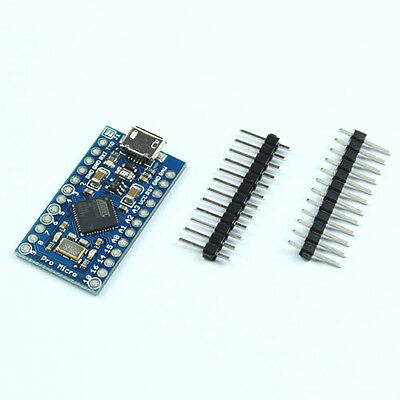 HOT Leonardo Pro Micro ATmega32U4 5V/16MHz Replace ATmega328 Arduino Pro Mini