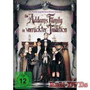Die-Addams-Family-in-verrueckter-Tradition-DVD-Anjelica-Huston-Neu-OVP-Adams