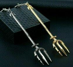 Dreizack Aquaman Neptun Justice League Symbol Schlüsselbund Taschen…