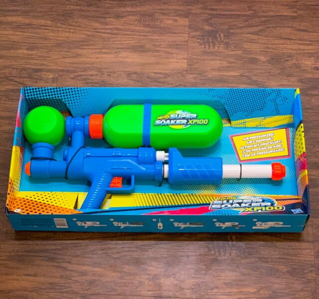 Nerf Super Soaker Xp 100 Water Gun Limited Edition Brand