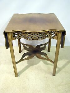 Image Is Loading Baker Furniture Historic Charleston  Collection Mahogany Drop Leaf