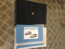 2004 RENAULT MEGANE OWNERS / DRIVERS MANUAL WITH WALLET