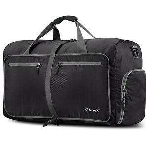 Gonex-80L-Travel-Duffle-Bag-Foldable-Tear-Resistant-Carry-On-Luggage-Bag-Storage