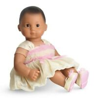 American Girl Bitty Baby Doll Sugar & Spice Outfit Dress Shoes In Box