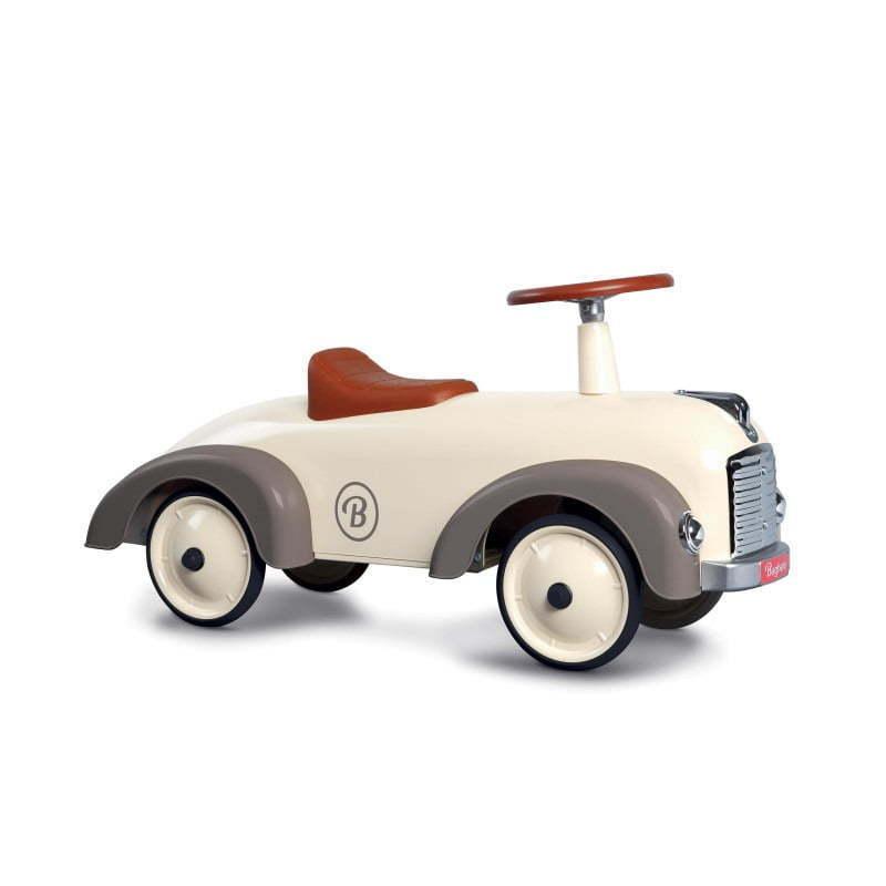 Auto Cavalcabile Vintage  Da Corsa Per Bambini borsahera Speedster Silkgrigio  spedizione veloce in tutto il mondo