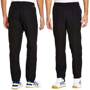 Détails sur Adidas Essentials Training Pantalon Stanford à Revers Tissé Pantalon Noir pour homme afficher le titre d'origine