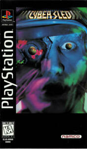 Cyber Sled PS1 Great Condition Fast Shipping