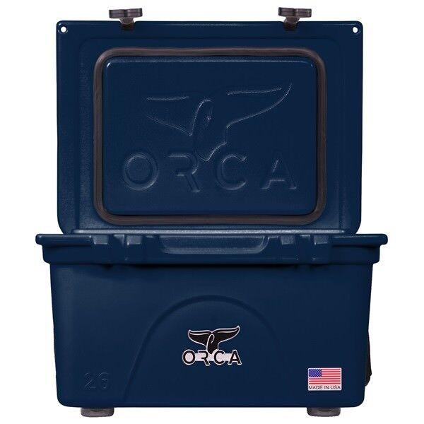 Orca 26QT Azul Marino Cooler garantía De Por Vida Navy 26 cuartos Enfriador  nuevo