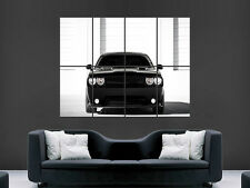DODGE CHALLENGER SRT CARICABATTERIE AUTO MURO ART immagine poster gigante enorme!!!