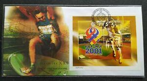 2001-Malaysia-Sports-XXI-SEA-Games-MS-FDC-mild-toned-nice-S-N-008383-KL-Cachet