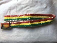 Haille Selassie Oro Rojo Cinturón Verde raíces Rasta Reggae Rastafari