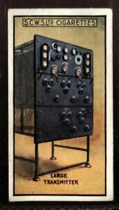 Tobacco-Card-Scottish-CWS-WIRELESS-1924-Large-Transmitter-45