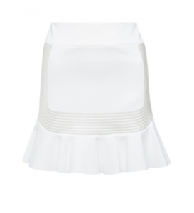 ROBERT RODRIGUEZ Quorra Embroidery White Skirt 4