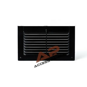 air vent grille cover black 175x105mm ventilation grill cover ebay. Black Bedroom Furniture Sets. Home Design Ideas