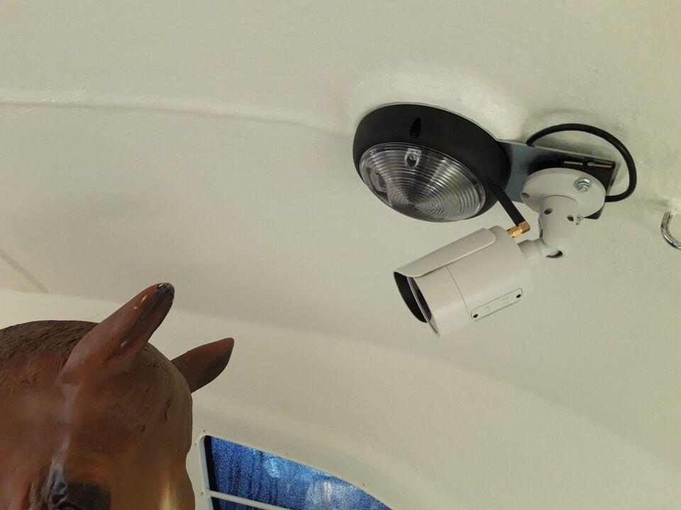 Trailer Wifi og GSM Video kamera til både SIM-kort og...,