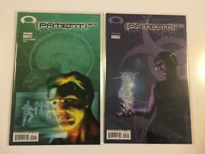 Lot-of-2-Patient-Zero-1-2-Image-Comics-2004-VF-NM