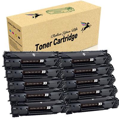30x CE278A 78A Black Toner Cartridge For HP LaserJet Pro P1566 P1606dn M1536dnf