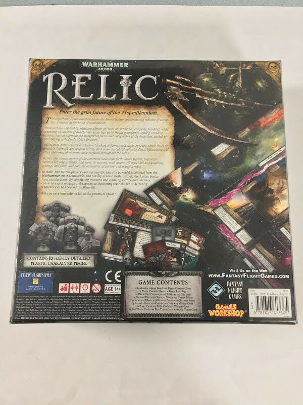 Warhammer 40k RELIC Base Base Base Board game Fantasy Flight Games New Sealed 2a576b