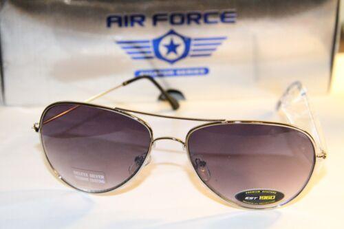 Metallic Frame Gray Lens Men AV 30 GRD New Aviator Fashion Sunglasses Silver