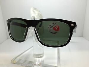 0b1d8ac4e7 AUTHENTIC RAYBAN RB 4226 6052 9A TOP MATTE BLACK GREEN POLARIZED ...