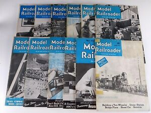 Model-Railroader-Magazines-1948-Lot-12-Issues-Complete-Year-Kalmbach-Publishing