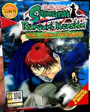Rurouni Kenshin (TV + 6-OVA + 2 Film + Live Movie ) ~ 9-DVD ~ English Version ~