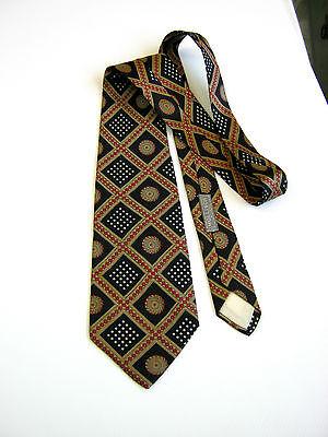 Marchio Popolare Battaglia Wollisch Milano Vintage 70 Seta Silk Made In Italy Originale