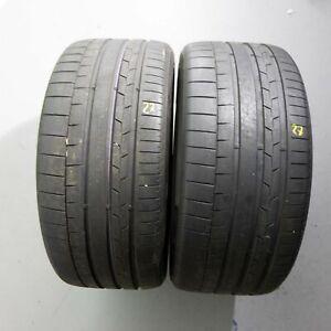 2x-Continental-SportContact-6-265-40-r21-105y-Dot-3418-6-5-mm-pneus-d-039-ete