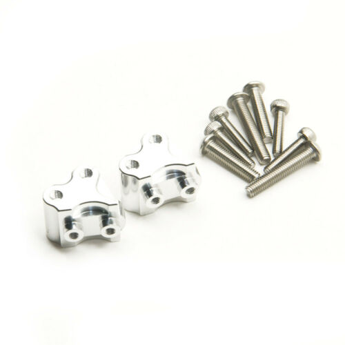 2Pcs Alloy Lower Shock Link Mount for 1//10 Axial SCX10II 90046 90047 Crawler