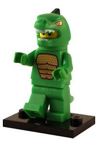Lizard Man Minifigure LEGO 8805 Minifigure Collection Series 5
