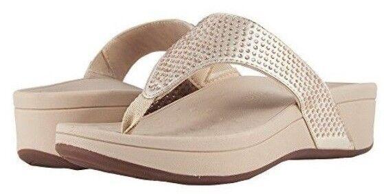 99c64efa5fec Vionic Women s Pacific Naples Platform Sandals Champagne US 9 EUR 41  Asr1258 for sale online
