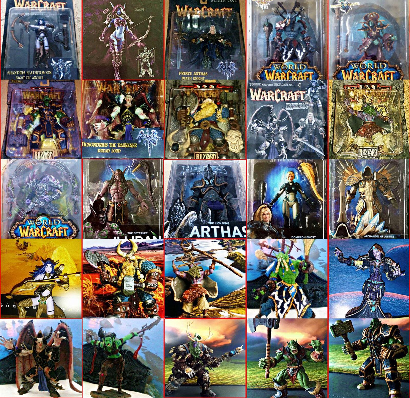 Wow World Of Warcraft,Diablo,Castlevania,Starcraft,Blizzard-Neca Dc Figurenwahl