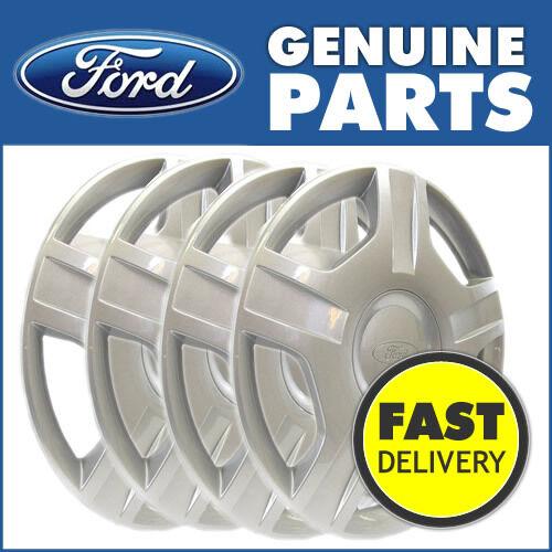 "2001-10//2012 1224711 Genuine Ford Fiesta MK6 14/"" Wheel Trims Set of 4"