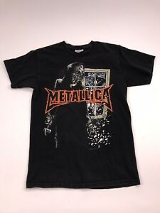Metallica-2007-Concert-Double-Sided-T-Shirt-Small-vtg-tour