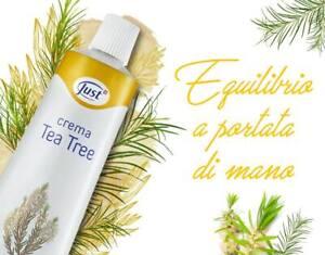 Crema Tea Tree 100ml - JUST - BRUFOLI - PSORIASI - DERMATITI - ECZEMA