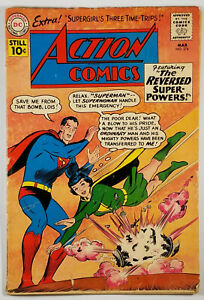 Action-Comics-274-GD-VG-1961-featuring-Superman-Lois-Lane-as-Superwoman