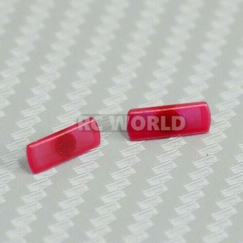 2PCS D/'Craft 1//10 RC Car SIDE MARKER LENS For RC Car Body NISSAN 180sx RED