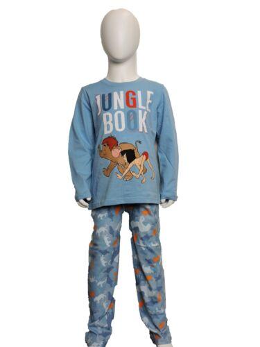 8 anni Ragazzi Inverno Disney Libro della Giungla Manica Lunga Pigiama//pigiami età 3 ANNI