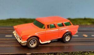 Aurora AFX Magnatraction 57 Chevy Nomad HO scale slot car